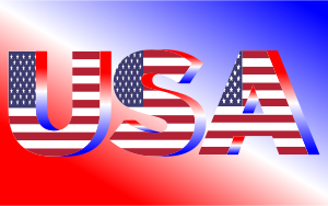 USA-Flag-Typography-Red-White-And-Blue